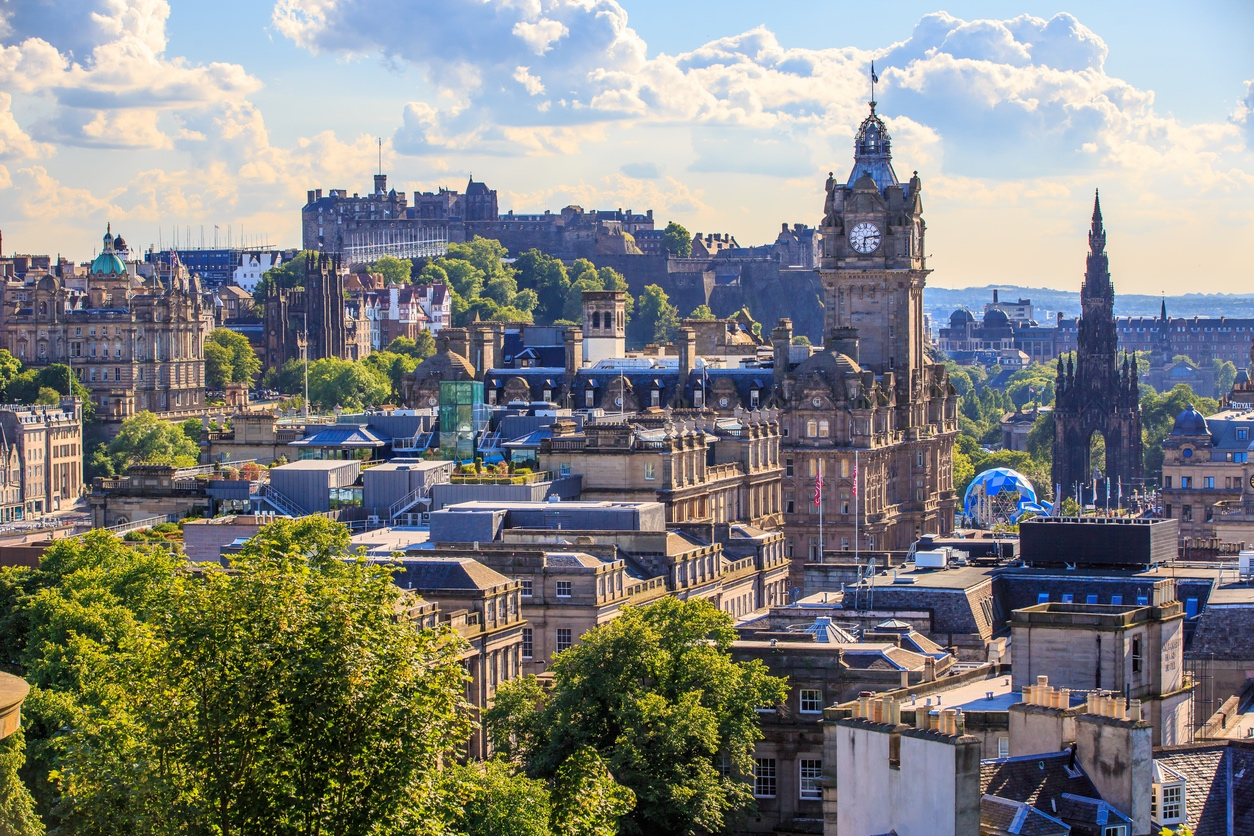 The bonnie city of Edinburgh
